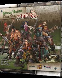 Green Horde Tiles Set