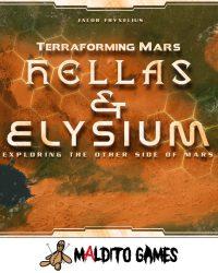 Terraforming Mars exp Hellas & Elysium
