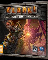 Clank! Una aventura de construcción de mazos