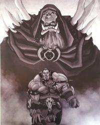 Lamina personaje Orco Warcraft