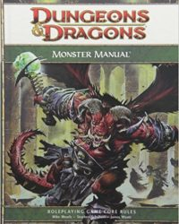 Dungeons & Dragons 4ª Manual de Monstruos