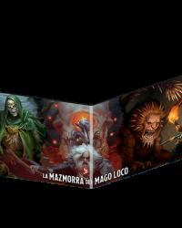 Dungeons & Dragons 5ª Pantalla del Master La Mazmorra del mago loco