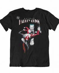 Camiseta Harley Quinn y el Joker (Unisex) Talla L