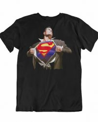Camiseta Superman Unisex Talla 2XL