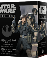 Cassian Andor y K-250 Expansión de Comandante