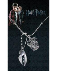 Placas de identificación de Gryffindor y Bola Snitch