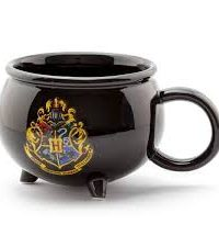 Taza Caldero Hogwarts Harry Potter
