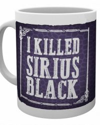 Taza «Yo maté a Sirius Black» Harry Potter