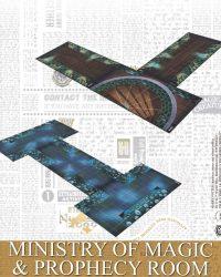 Tableros de Ministerio de Magia y La Habitación de la Profecía