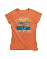 Camiseta California Supergirl Talla 2XL