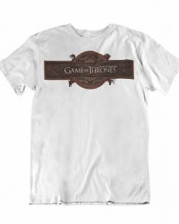 Camiseta Logo Game of Thrones Intro Talla 2XL