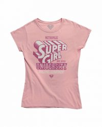 Camiseta Supergirl University Talla L