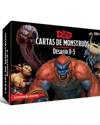 Cartas de Monstruos Desafío 0-5