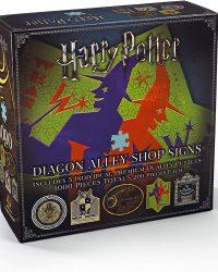 Puzzle 1000 Harry Potter Diagon Alley Shop Signs